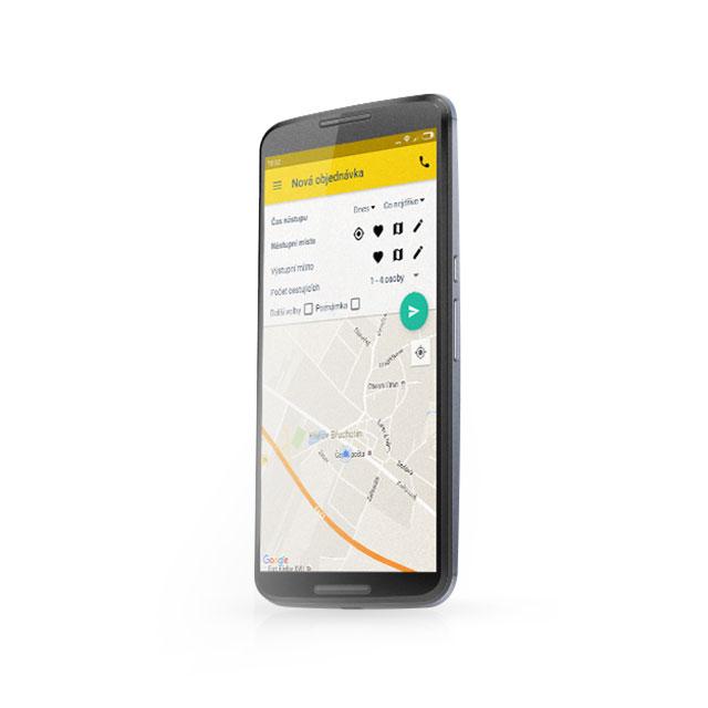 Vyzkoušejte si mobilní aplikaci Atlant taxi