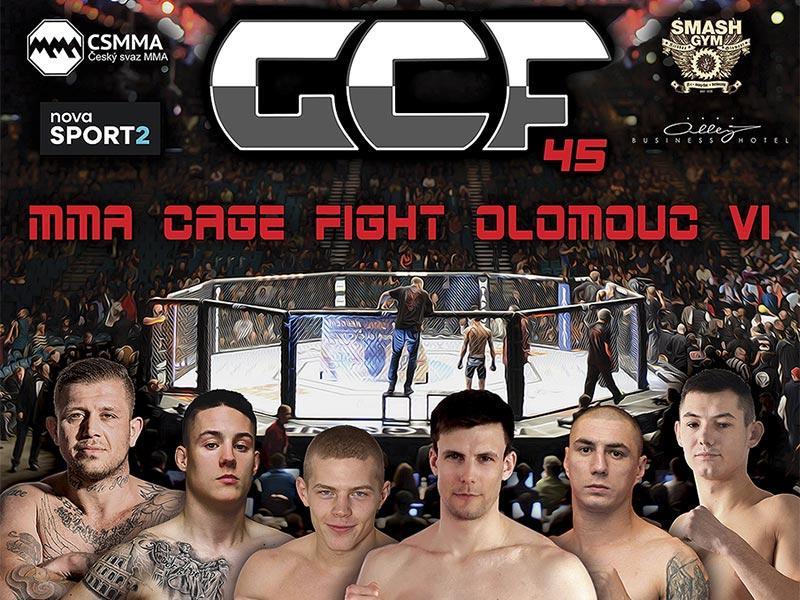 MMA Cage fight Olomouc VI
