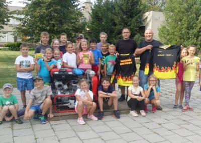 Mladí hasiči Grygov